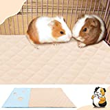 Fleece Liner for Guinea Pig Cage with Burrowing