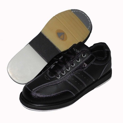Pyramid Mens Ra Black Right Handed Bowling Shoes IJRPvT0