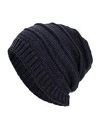 Winter Hat Sale, KIKOY Lattice Cotton Hats Unisex Warm Comfort Winter Knit Cap