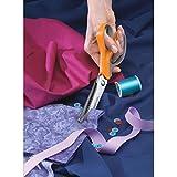 Fiskars Softgrip Pinking Fabric Shears 9.5''-