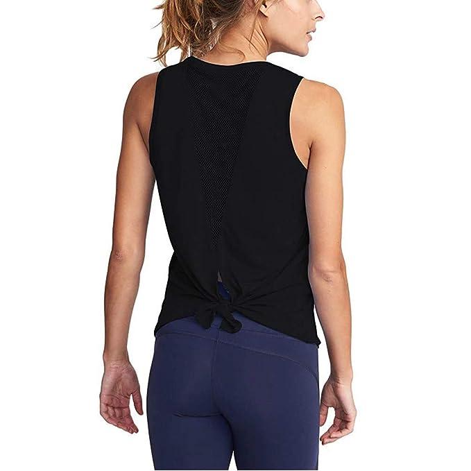 Amazon.com: OPIBOO - Camiseta de malla para mujer, para ...
