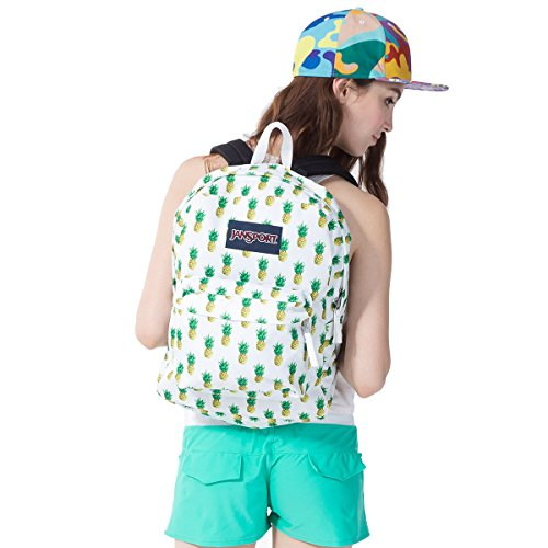 Classic Jansport Superbreak Backpack (Multi Tropic Gold (T5010EM))