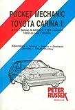 Toyota Carina II to 1988, Petrol and Diesel