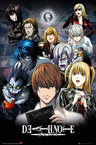 Death Note - Manga / Anime TV Show Poster / Print (Character Collage) (Size: 24