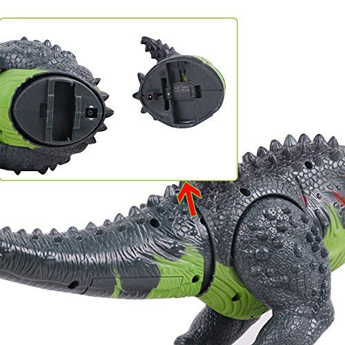 Ovovo Dinosaur Robot Toy for Boys Girls Large Size Walking Dinosaur Toy with Light and Sound, Real Movement. by Ovovo (Image #5)