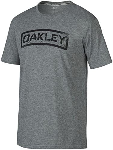 Oakley Tab - Camiseta para hombre - Gris - XX-Large: Amazon.es: Ropa y accesorios