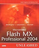 Macromedia Flash MX Professional 2004 Unleashed, David Vogeleer and Matthew Pizzi, 067232606X