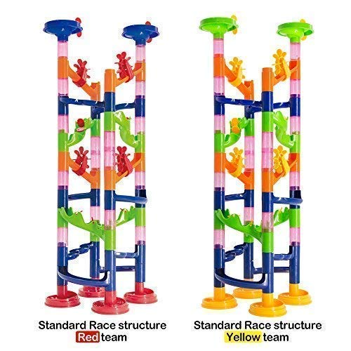 WEofferwhatYOUwant Marble Run Coaster Toy Challenge - Construction Set