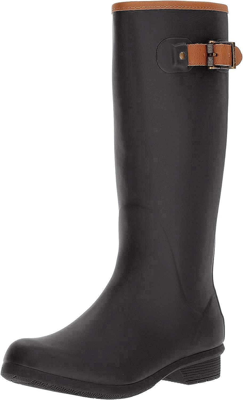 Chooka Women's Tall Memory Foam Rain Boot