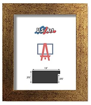 Amazoncom Us Art Frames 20x28 Brushed Copper Brass Finish Flat