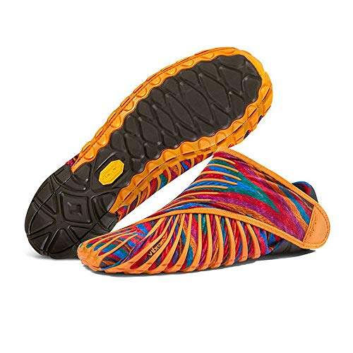 Manakayla Fashion Walking Sport Stretch Fabric Shoes Super Light Five Fingers Sneakers REBOZO XS(36-37)