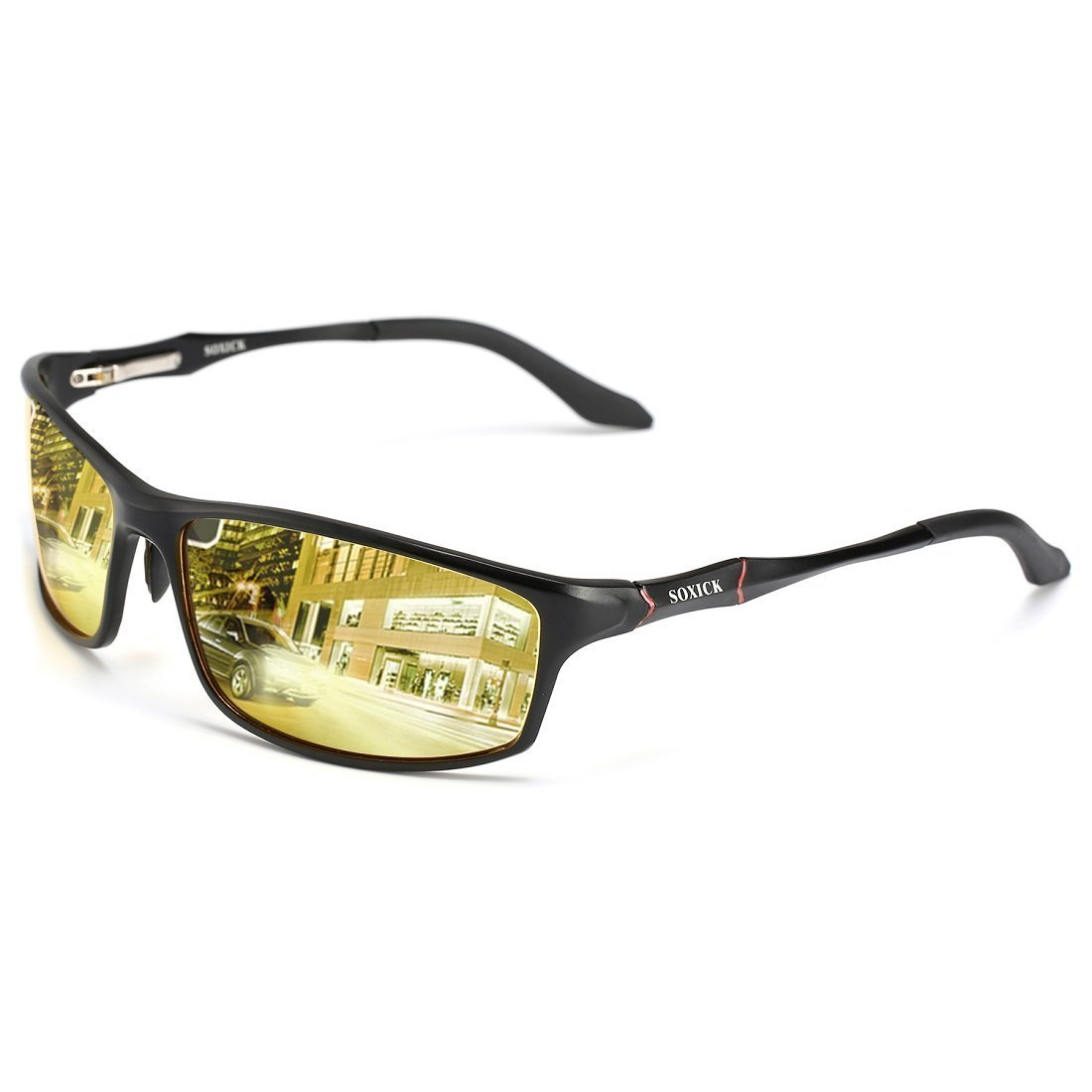 HD Night Driving Glasses, Polarized Sunglasses Anti Glare Safe Night Vision Glasses xds6128