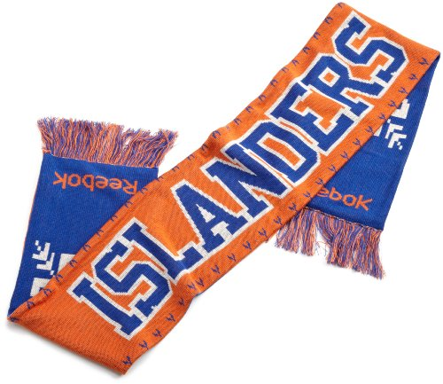 NHL Men's Game Day Team Scarf (New York Islanders, One Size Fits All), Orange/blue