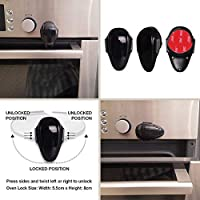 CAIfnv Hidden Magnetic Cabinet Locks Baby Safety Locks for Drawers and Cabinets-Kitchen Baby Proofing Safety A