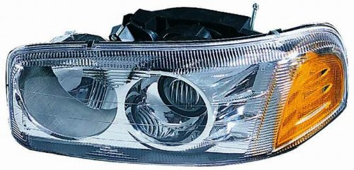 Depo 335-1114L-AC GMC Yukon Denali/Sierra Denali Driver Side Replacement Headlight Assembly