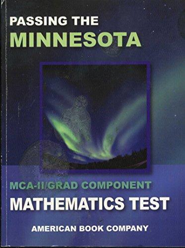 Passing the Minnesota MCA-II/Grad Component Mathematics Test [2006]