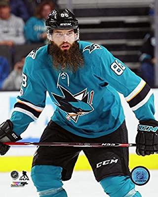 "Brent Burns San Jose Sharks 2015-2016 NHL Action Photo (Size: 11"" x 14"")"