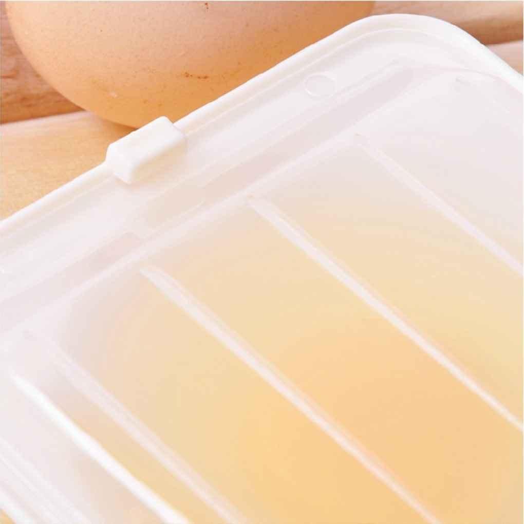 Fornateu Microondas Huevo Caldera 2 Huevos escalfados Huevo de pl/ástico para cocinar Huevos