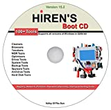 Hiren s Boot CD 15.2 Registry Network Partition Password Recovery Startup Testing Repair MBR Optimizers Drivers Backup Antivirus Spyware Hard Drive & Many Other System Tools for Windows