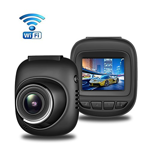 dash cam with wifi aisdom full hd 1080p mini dashboard. Black Bedroom Furniture Sets. Home Design Ideas