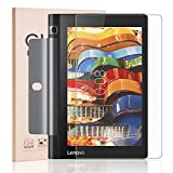 Lenovo YOGA Tab 3 8 Screen Protector, RBEIK Premium 9H Tempered Glass Screen Protector for Lenovo Yoga Tab 3 8 - ZA090008US with 9H Hardness, Anti-Scratch, Anti-Fingerprint, Bubble Free Feature