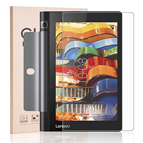 Lenovo YOGA Tab 3 8 Screen Protector, RBEIK Premium 9H Tempered Glass Screen Protector for Lenovo Yoga Tab 3 8 - ZA090008US with 9H Hardness, Anti-Scratch, Anti-Fingerprint, Bubble Free Feature