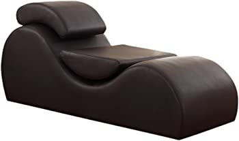 US Pride Furniture Faux Leather Deluxe Stretch Chaise Relaxation