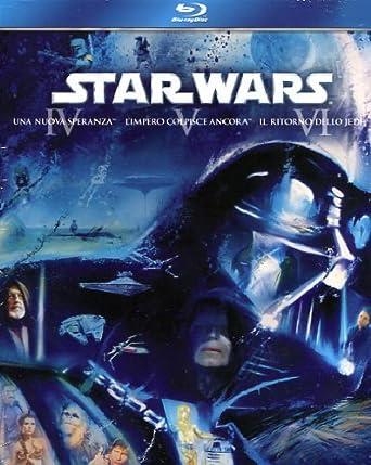 Star Wars - Trilogia 3 Blu-ray [Italia] [Blu-ray]: Amazon.es: vari, vari, vari: Cine y Series TV