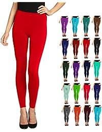 Lush Moda Seamless Full Length Basic Leggings - Variety...