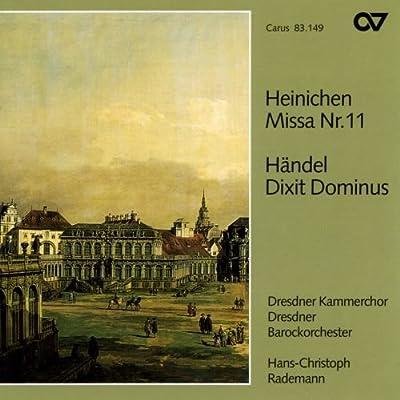 Heinichen / Haendel : Missa Nº 11 / Dixit Dominus: Varios, Heinichen / Haendel: Amazon.es: Música
