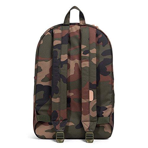 Herschel Heritage 17 Backpack Rucksack 47 cm Laptopfach grün / braun