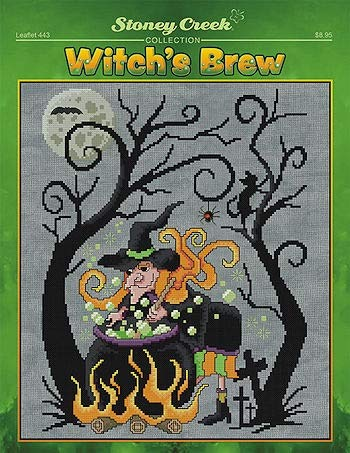 Witch's Brew Cross Stitch Chart]()