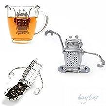 TXIN Great Robot Hanging Tea Leaf Diffuser Infuser Steel Strainer Herbal Spice Filter