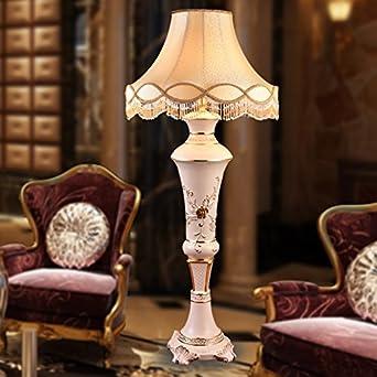 YFF@ILU Stehleuchte Wohnzimmer Luxuriöse Möbel Dekoration Keramik  Tischleuchte Im Foyer Der Halle Dekoration,