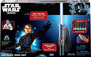 Uncle Milton - Star Wars Science -  Multicolor Lightsaber Room Light