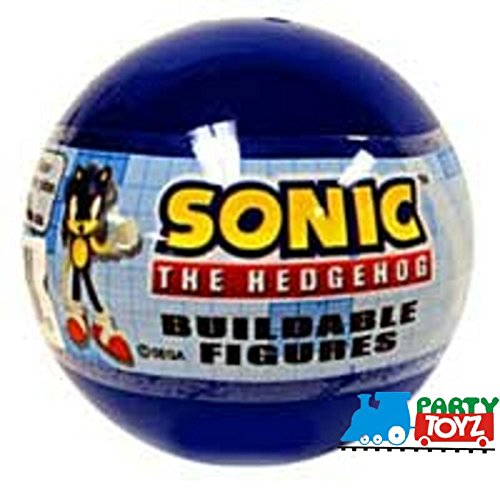 Gacha/Tomy Sonic The Hedgehog Buildable Mini Figur…