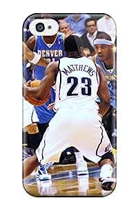 DanRobertse Case Cover For Iphone 4/4s - Retailer Packaging Utah Jazz Nba Basketball (14) Protective Case