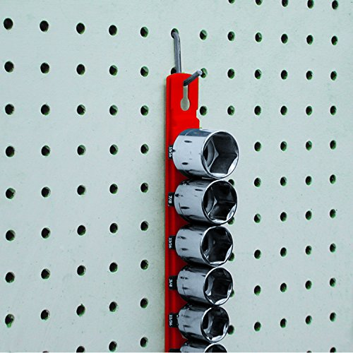 Ernst Manufacturing 13-Inch Magnetic Socket Organizer with 14 3/8-Inch Twist Lock Clips, Blue by Ernst Manufacturing (Image #5)
