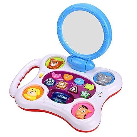 Amazon.com: Arshiner Baby Kids Floor Mirror Lighting Musical ...