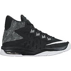 Nike Boy's Air Devosion (Gs) Basketball Shoe Blackwhitecool Grey Size 6 M Us