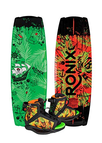 Ronix Vision Wakeboard Kid's Package w/Vision Boots (2019)