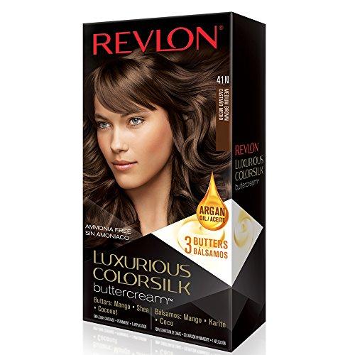 Revlon Luxurious Colorsilk Buttercream, Medium Brown