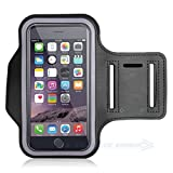 Cell Phone Armband: Best Sweatproof Sports Arm Band Strap Protective Holder Pouch Case For Gym Running For iPhone 6 6S 7 7S 8 Plus Touch Samsung Galaxy S8 S7 S6 S5 Pixel Note 4 5 Edge HTC ONE Android
