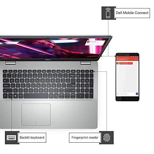 DELL Inspiron 5593 15.6-inch Laptop (10th Gen Core i7-1065G7/8GB/1TB HDD + 256GB SSD/Window 10 + Microsoft Office/4 GB NVidia MX 230 Graphics), Silver