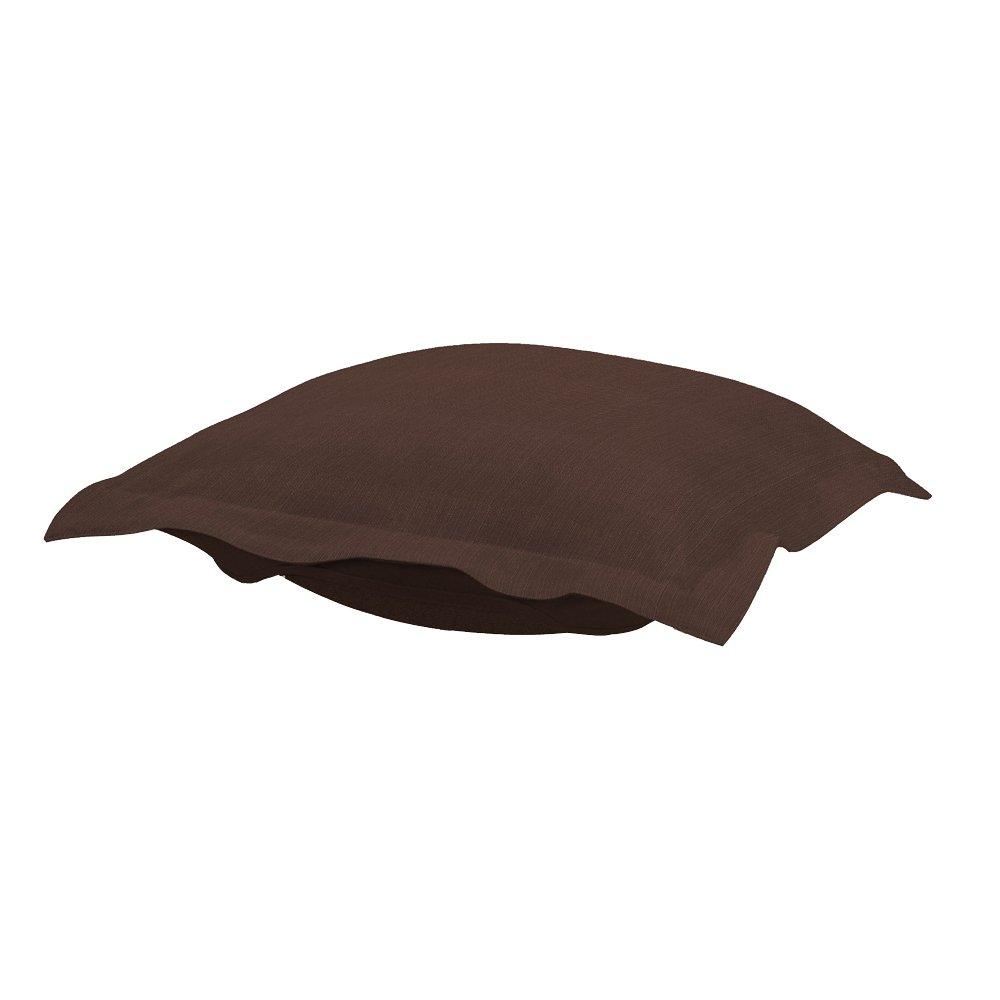 Sterling Charcoal Howard Elliott Puff Ottoman Cushion