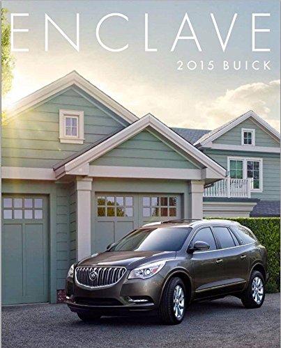 2015 Buick Enclave 34-page Original Car Sales Brochure Catalog