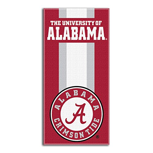 Northwest NCAA Alabama Crimson Tide  Beach Towel,  30 x 60-inch
