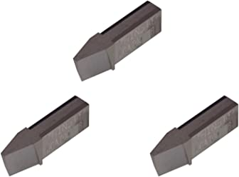 Parting Insert for Non-Ferrous Alloys THINBIT 3 Pack LGPT045D5R L Series Aluminium and Plastic Without Interrupted Cuts Uncoated Carbide