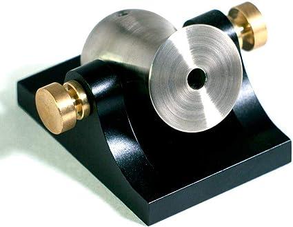 Mini Desktop Cannon Pocket Artillery Silver w// Brass Hardware