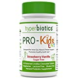 PRO-Kids ENT: Children's Oral Probiotics (Chewable & Sugar Free) – Uniquely Formulated for your Child's Oral & Ear Nose and Throat Health (Strawberry Vanilla) – 45 Chewable Probiotic Tablets Review